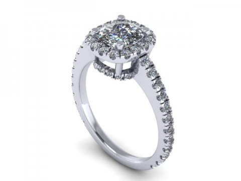 Cushion Diamond Ring Dallas 1 (1)
