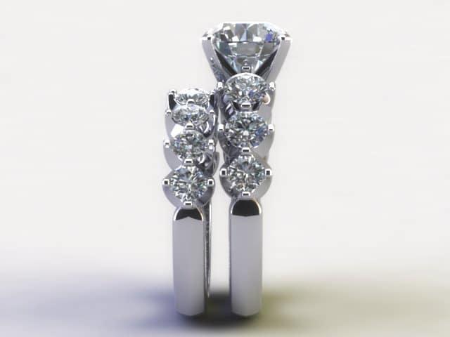 Custom Diamond Rings Dallas 4 6, Shira Diamonds