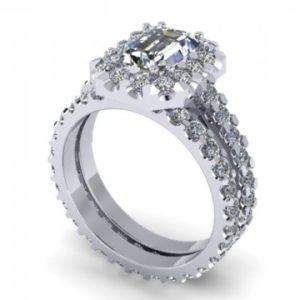 Wholesale Emerald Diamond Rings Dallas 1