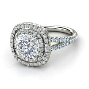 cushion diamond rings dallas